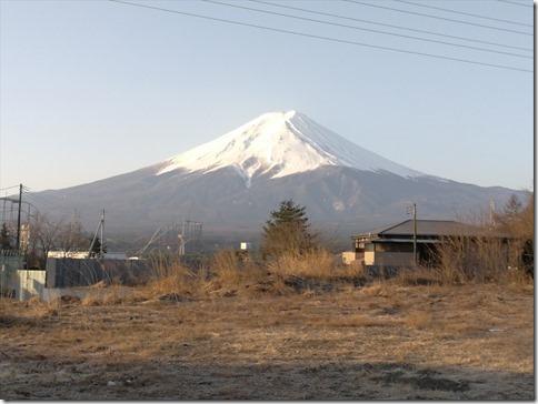 富士山旅2017/03 早起きして、朝日に照らし出される富士山を堪能の編