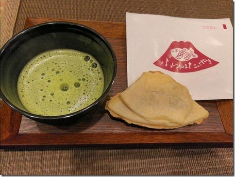 山梨食その4 ふじやま屋でふじやま鯛焼き@富士山駅