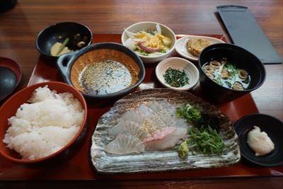 松山食その1 五志喜で鯛めしランチ@大街道