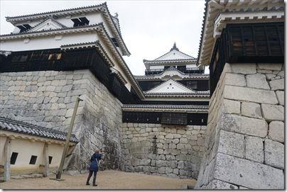 松山旅2015/02 松山城に攻め込むの編その2