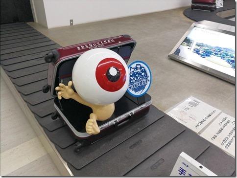 鳥取旅2017/07 ゲゲゲの米子鬼太郎空港訪問記