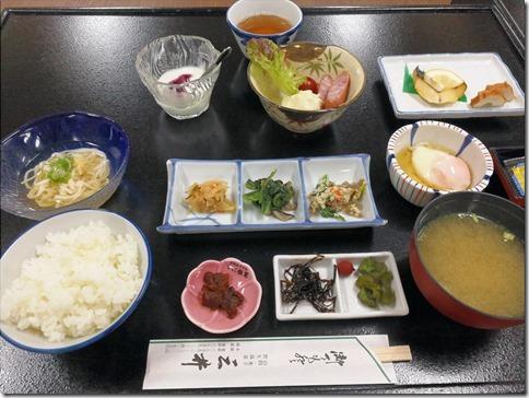 鳥取旅2017/07 皆生温泉・三井別館にて朝食の編