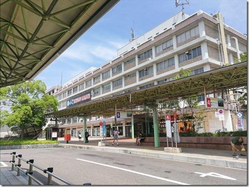 鳥取旅2017/07 米子鬼太郎空港からJR米子駅へ移動の編