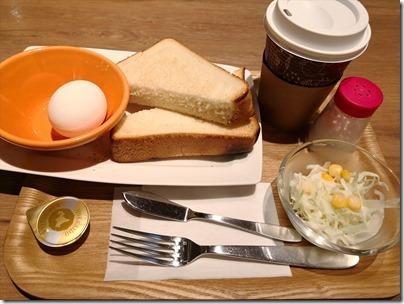 羽田空港国際線の朝ごはん・和 CAFETERIA DINING 24 羽田食堂で500円モーニングの編