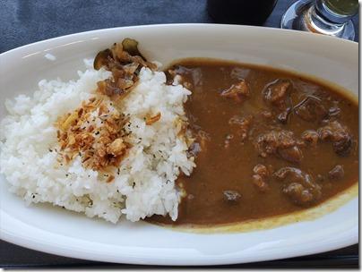 羽田空港のカレーその6「LDH KITCHEN」の TOKYO BEEF CURRY@T1