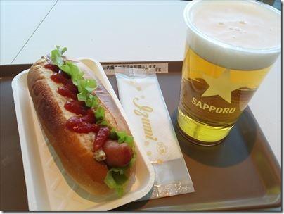 羽田空港国内線第2ターミナルのシーニック・カフェで昼間から飲酒するの編